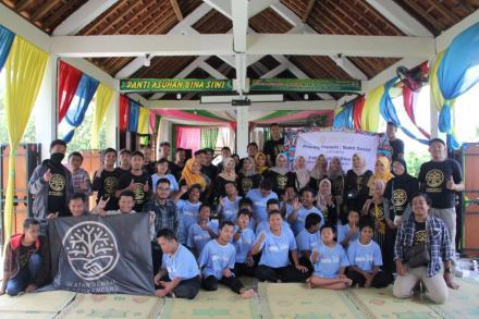 Ikatan Remaja Botokenceng mengadakan Bakti Sosial di Panti Asuhan Bina Siwi, Pajangan Bantul